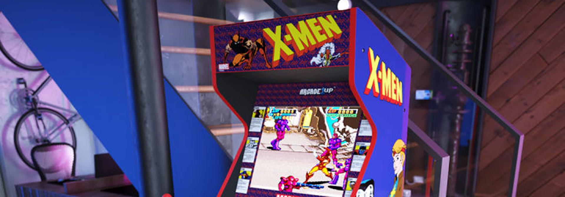 Arcade 1Up Reveals Killer Instinct, Dragon's Lair, X-Men And More