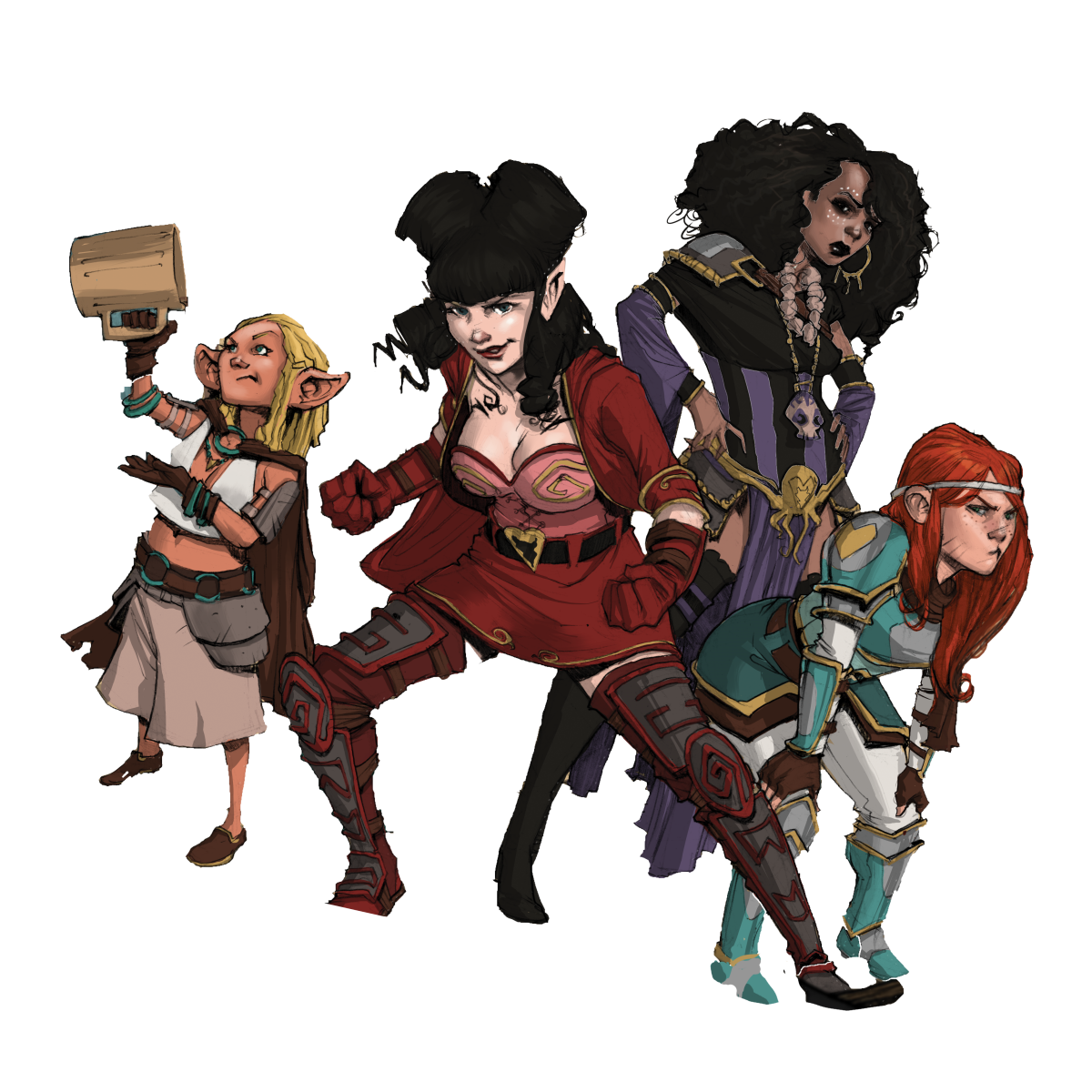Rat Queens Board Game Announced From Deep Water