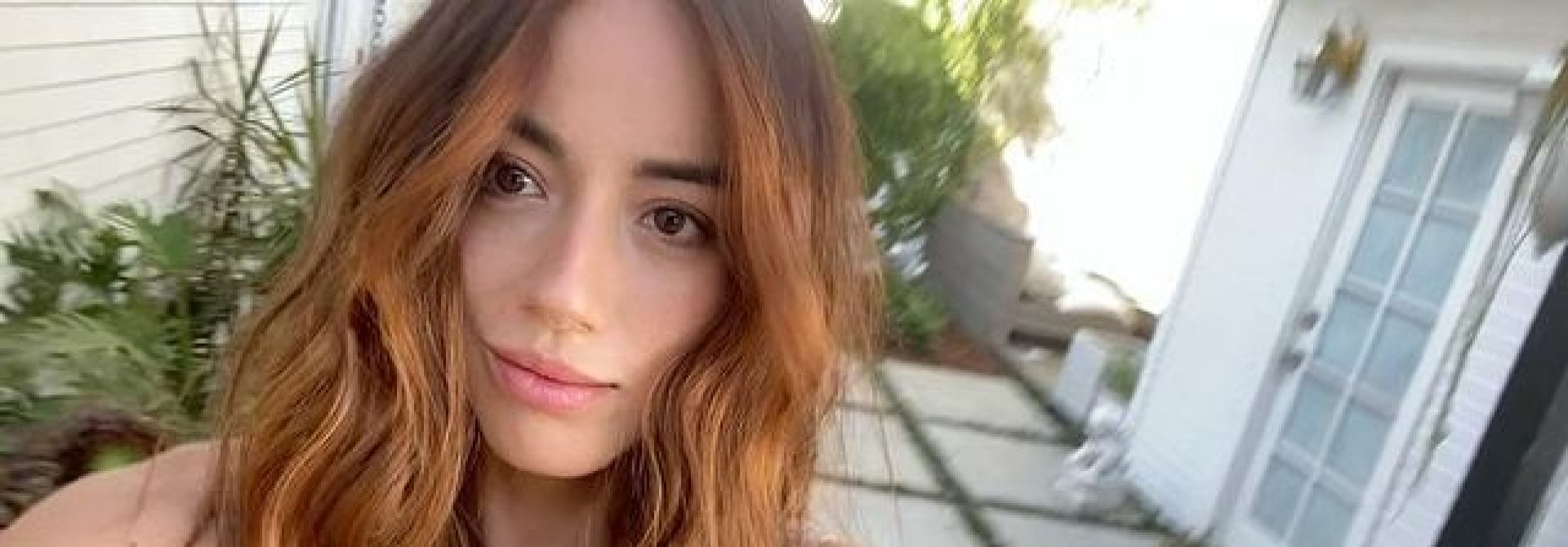 Chloe Bennet dyes her hair red to play Blossom