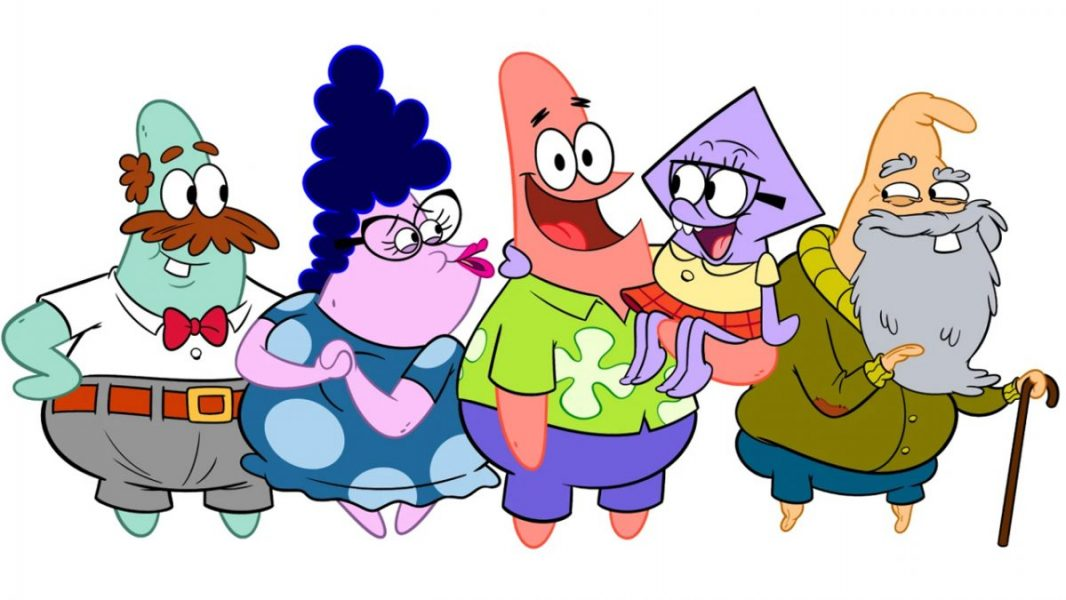 Patrick Star and his family