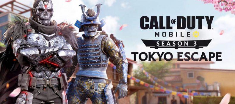 Call of Duty Mobile Season 3: Tokyo Escape Begins April 17