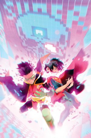 Challenge of the Super Sons #4 - DC Comics Solicitations July 2021