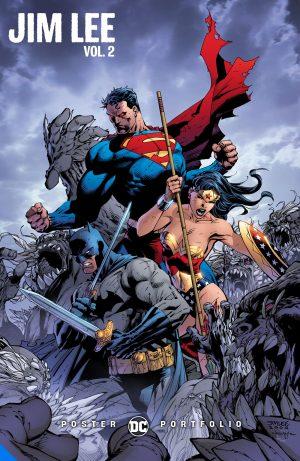 DC Poster Portfolio Jim Lee Vol. 2 -DC Comics Solicitations July 2021