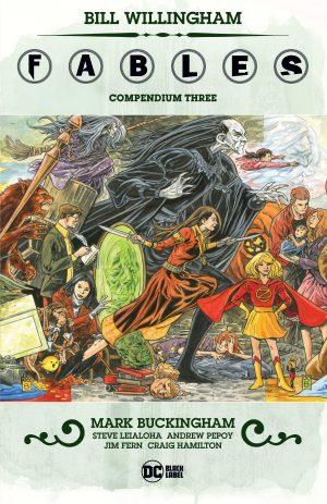 Fables Compendium Three -DC Comics Solicitations July 2021