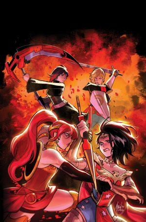 RWBY/Justice League #4 -DC Comics Solicitations July 2021