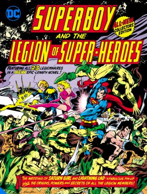 Superboy and the Legion of Super-Heroes (Tabloid Edition) -DC Comics Solicitations July 2021