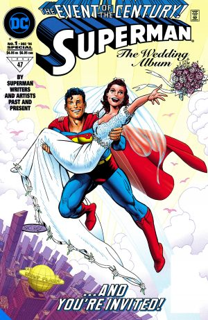 Superman & Lois Lane: The 25th Wedding Anniversary Deluxe Edition -DC Comics Solicitations July 2021