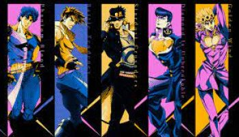 first 5 jojos