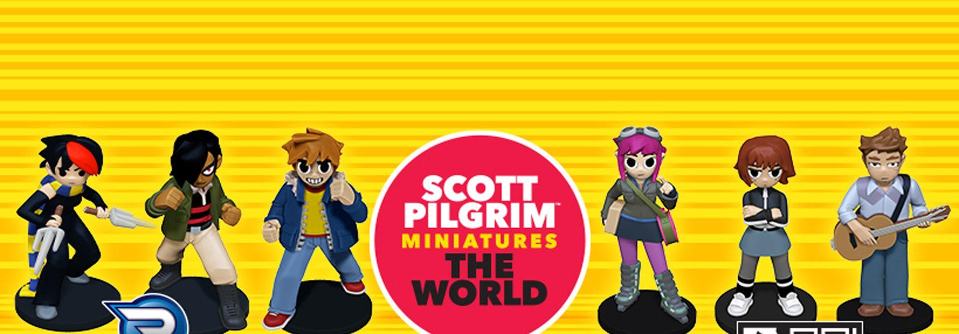 Scott Pilgrim Miniatures The World Heads To Retail