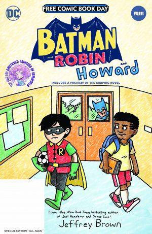 Batman & Robin and Howard / Amethyst: Princess Of Gemworld FCBD Special Edition Flipbook - Batman & Robin and Howard