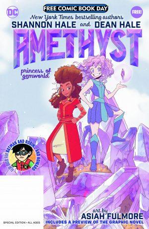 Batman & Robin and Howard / Amethyst: Princess Of Gemworld FCBD Special Edition Flipbook - Amethyst: Princess Of Gemworld