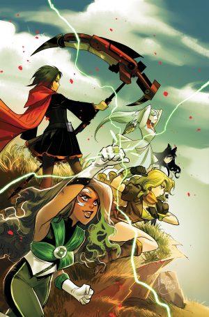 RWBY/Justice League #5