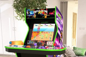 Arcade1Up Reveals Ninja Turtles, Street Fighter, Ms Pac-Man And More