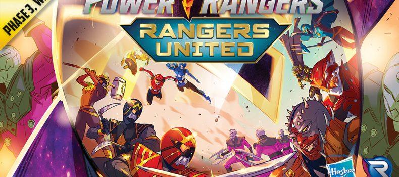 Power Rangers: Heroes of the Grid Rangers United Leaps Onto Kickstarter