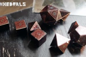 Kickstarter Launches For Tinhedrals: The New And Improved Tin20 Dice