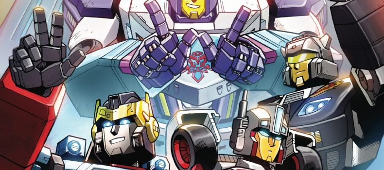 IDW Announces Transformers: Wreckers – Tread & Circuits For October
