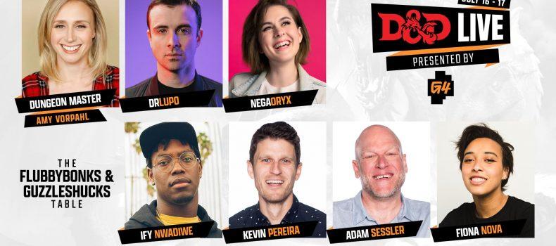 G4 Presents D&D Live 2021