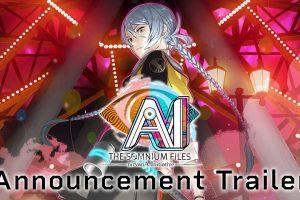 AI: The Somnium Files Sequel Announced