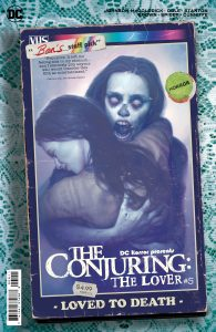 DC HORROR PRESENTS: THE CONJURING: THE LOVER #5