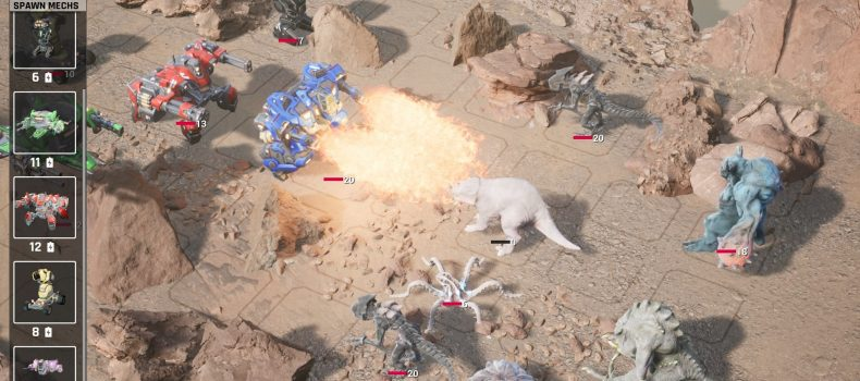 Mech Armada Heads To Steam Early Access August 10