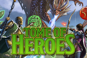 Tome Of Heroes Kickstarter Now Live