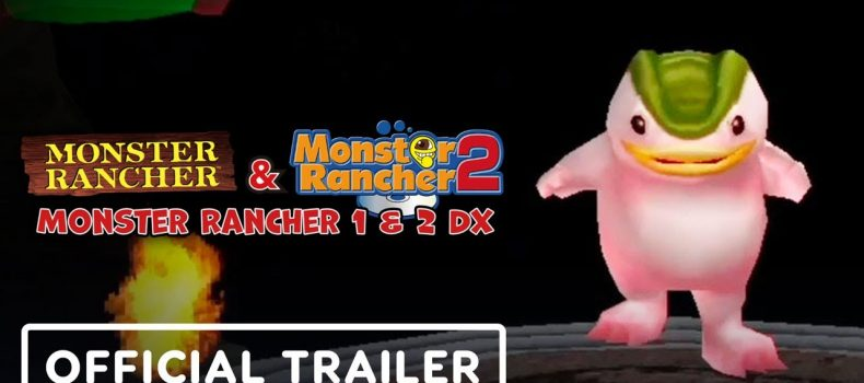 Monster Rancher 1& 2 DX- PS1 classics goes to Switch