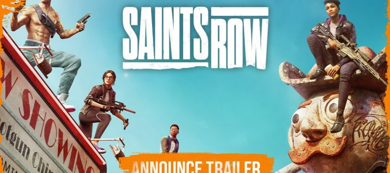 Saints Row is back with a reboot this 2022