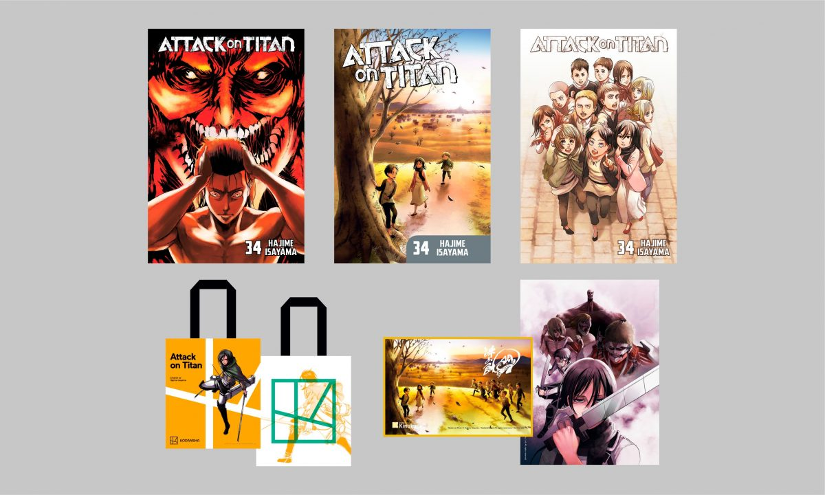 Attack On Titan Final Volume Variants And Exclusives
