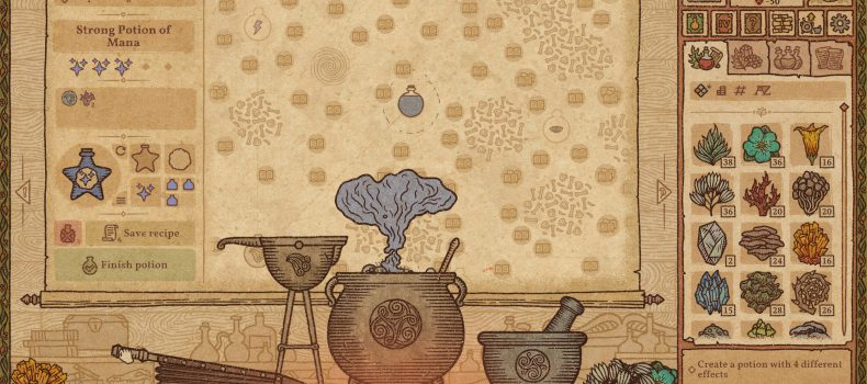 Potion Craft Launches On Steam Early Access