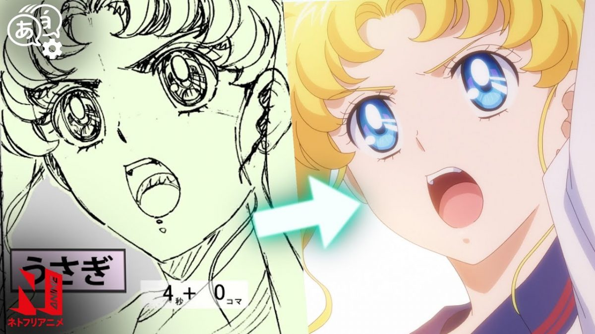 Sailor Moon Eternal Movie shows behind the scenes animation