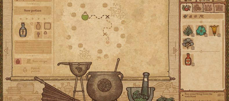 Potion Craft Comes To Steam Early Access September 21