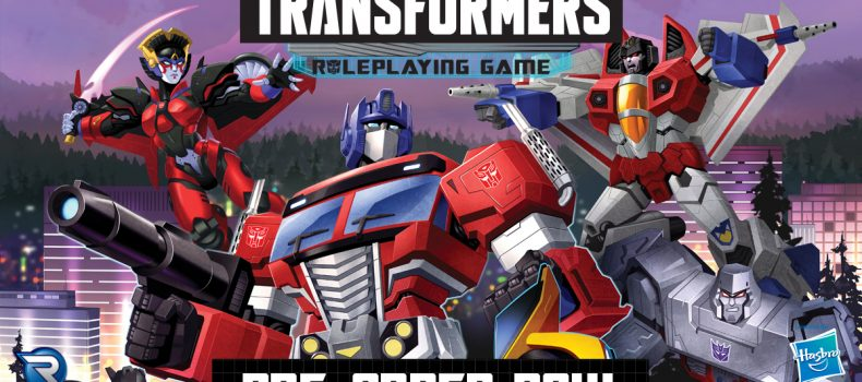 Transformers RPG Rolls Out From Renegade