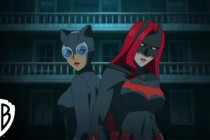 Catwoman: Hunted, This movie is an ANIME!!